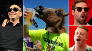 Pitbull, Macklemore and Ryan Lewis to headline Preakness InfieldFest 2013