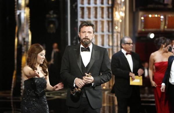 Ben Affleck already has an Oscar, but the actor-turned-screenwriter-turned-director seemed overwhelmed with emotion during his best picture acceptance speech -- a blathering, heartfelt conclusion to a long ceremony. As cynical as the Oscar show can be at times, it's always nice when people allow themselves to feel.