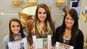 GRCHS journalism students interview local business owners to find out how their companies continue to prosper