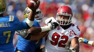 "Utah defensive end Star Lotulelei has been told by the NFL he can't participate in Monday's workouts at the scouting combine due to a heart condition that requires further attention, ESPN's Chris Mortensen <a href=""http://espn.go.com/nfl/draft2013/story/_/id/8981415/2013-nfl-draft-combine-star-lotulelei-heart-condition-work-monday-according-sources"">first reported</a>."