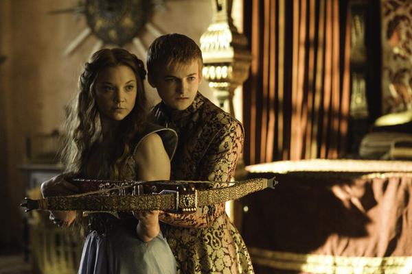 "Margaery Tyrell (Natalie Dormer) and King Joffrey (Jack Gleeson) will get to know each other better in Season 3 of ""Game of Thrones."""