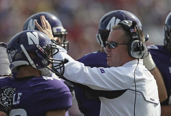 Coach Pat Fitzgerald will be without 13 players when spring football begins Wednesday.