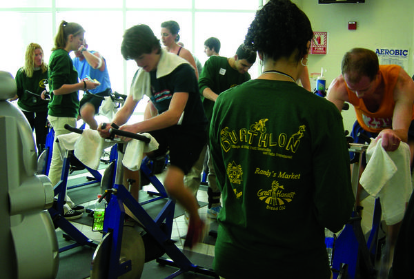 The Village of Orland Park Recreation Department will hold its annual indoor duathlon on Saturday, March 9, at the village's Sportsplex. The 13-mile competition includes a 1.5-mile run, a 10-mile stationary bike ride, followed by a second 1.5-mile run.