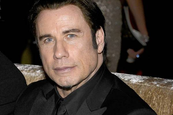 Actor John Travolta attends the Oscars Governors Ball on Sunday night.