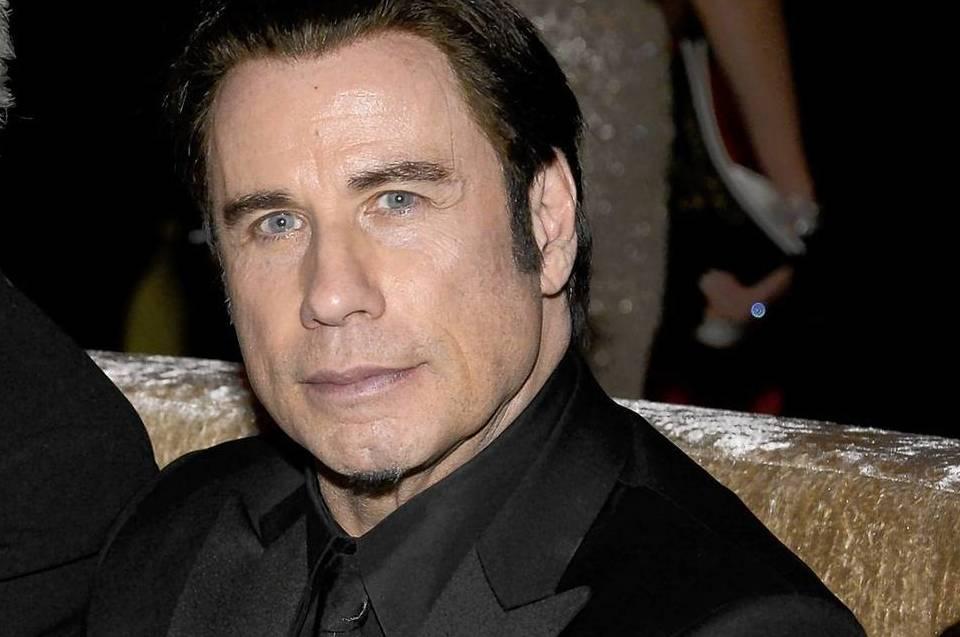 Actor John Travolta attends the Oscars Governors Ball on Sunday night.