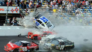 Daytona crash