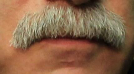 Coach Q's mustache