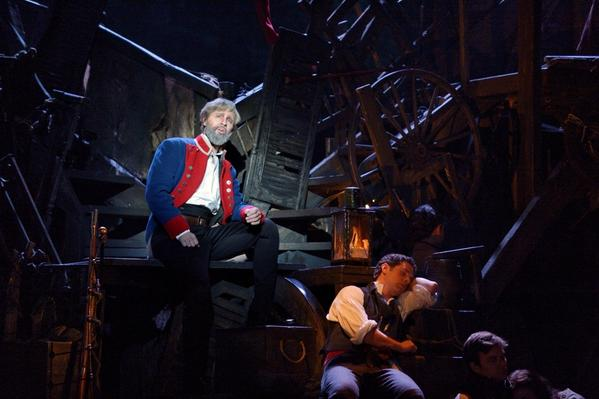 "The song ""Jean Valjean"" sung by Peter Lockyer as Jean Valjean."