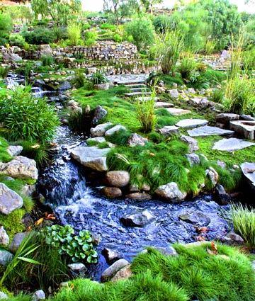 An Enchanted Garden In Malibu La Times