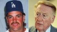 Mike Piazza, Vin Scully