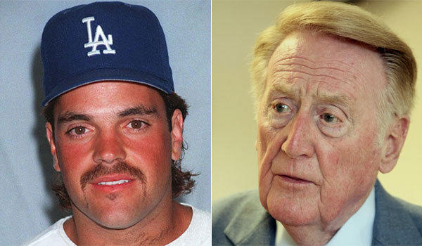 "Mike Piazza called Dodgers broadcaster Vin Scully ""a class act."""
