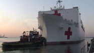 ARCHIVE VIDEO USNS Comfort sets sail in 2011