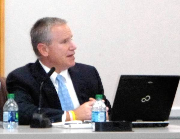 Naperville Unit District 203 Chief Financial Officer Dave Zager discusses the district's tax levy.