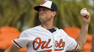 SARASOTA, Fla. -- Orioles left-hander Brian Matusz threw two scoreless innings in his first spring start Monday against the New York Yankees, overcoming a pair of singles to open the game to retire the final five batters he faced.