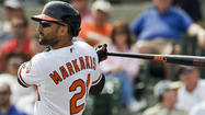 SARASOTA, Fla. – Orioles second baseman Brian Roberts hit a pair of doubles and scored two runs, and left fielder Nate McLouth added a two-out, pinch-hit double in the fourth inning to give the Orioles a 5-1 win over the Yankees at Ed Smith Stadium.