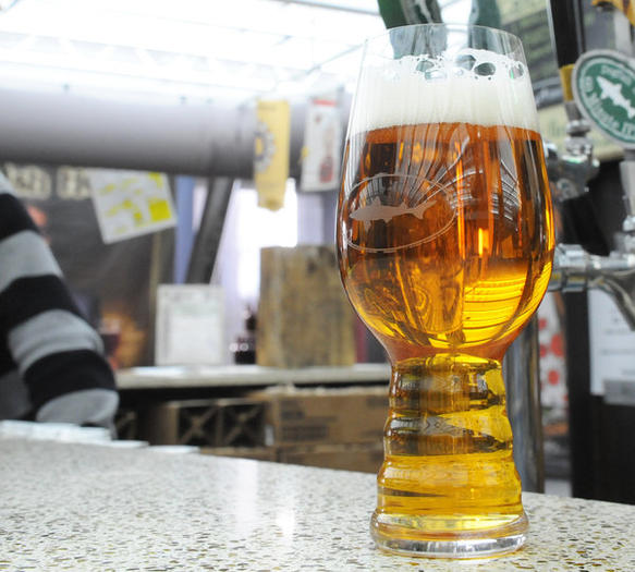 Brewers say this new glass makes India Pale Ale taste better.