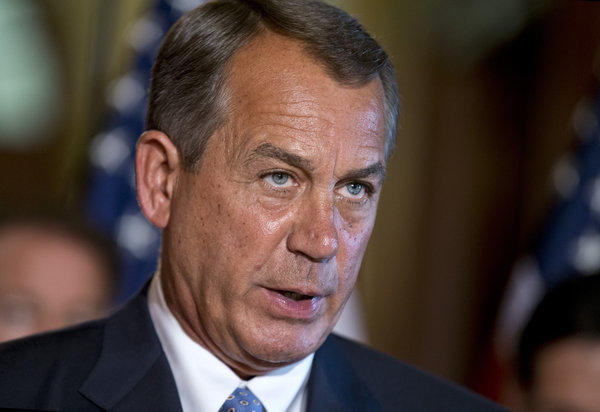 House Speaker John Boehner responds to President Obama's remarks to the nation's governors.