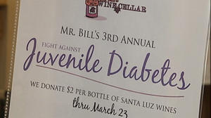 Roanoke wine business raises money for the Juvenile Diabetes Research Foundation