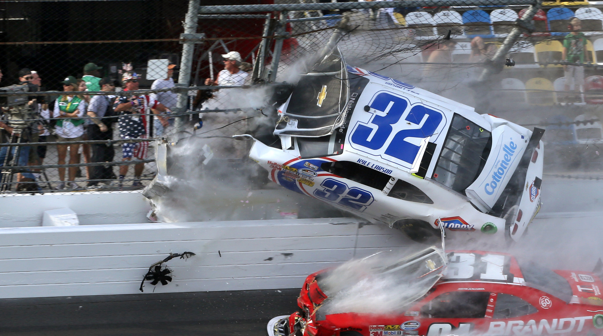 Pictures: NASCAR crash photos - Orlando Sentinel