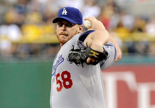 Chad Billingsley went 10-9 with an earned-run average of 3.55 in 2012.