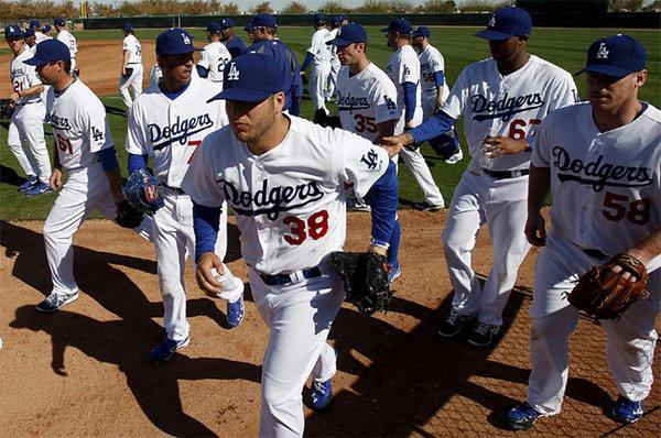 The Dodgers are in spring training for the 2013 season, but they're already making plans for next year too.