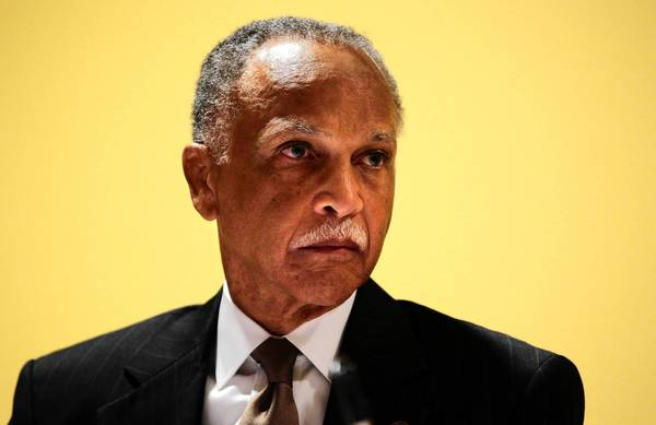 Wayne Watson stepped down as president of Chicago State University. Watson will have a one-year sabbatical at his $250,000 salary and then retire, the university says.