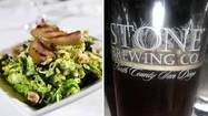 Max's Oyster Bar in West Hartford presents a dinner with Stone Brewing Company March 6, pairing the California brewery's craft beers with the cuisine of executive chef Scott Miller.