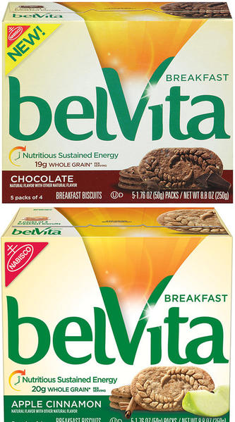 Mondel¿z Global LLC Conducts Nationwide Voluntary Recall of belVita Breakfast Biscuit Apple Cinnamon and Chocolate Varieties in the U.S. and Puerto Rico