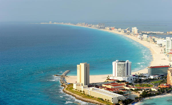 An estimated 20,000 tourists will visit Cancun, Mexico, during spring break.