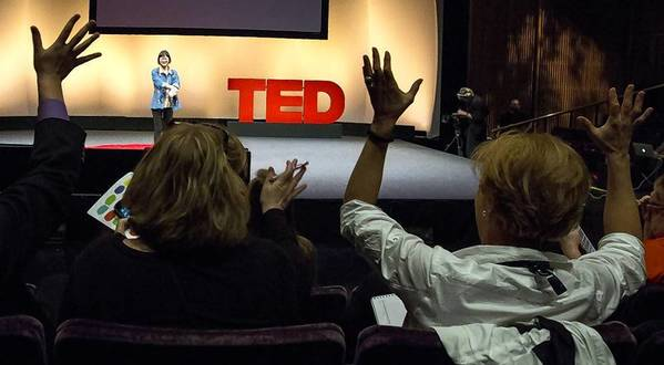 "The TED conference began its fifth and final annual conference Monday in Long Beach. The five-day conference features more than 80 speakers, including celebrities such as Bono and Peter Gabriel, with titles such as ""robotocist,"" ""beatboxer and inventor,"" ""passionate reader,"" ""public art instigator"" and ""sanitation champion."" Above, participants in a preconference TED program Saturday."