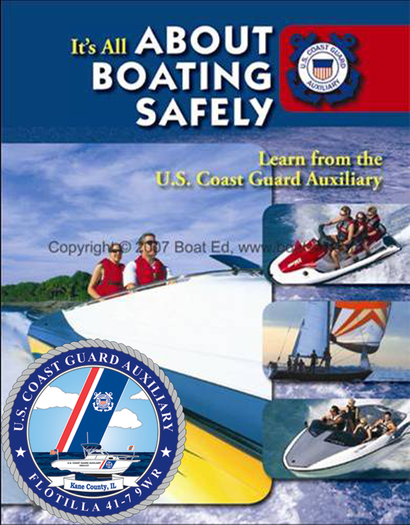 Coast Guard Auxiliary to teach Boater Education Classes
