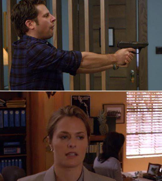 'Psych': The pineapple in (almost) every episode: Theres a pineapple air freshener in the hotel room during the bust, plus theres a pineapple in the background at the station.