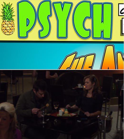 'Psych': The pineapple in (almost) every episode: We couldnt resist the pineapple on the comic during the opening credits, but the actual episode features a pineapple salt shaker in the restaurant.