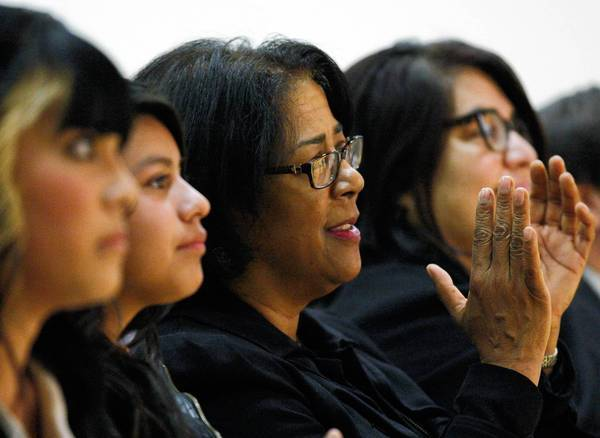 L.A. Councilwoman Jan Perry, center, has had to balance requests from the privileged and the poor in her district, which has led to uncomfortable fights.