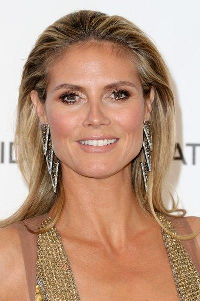Heidi Klum's New Balance sneakers will be sold at Lady Foot Locker.