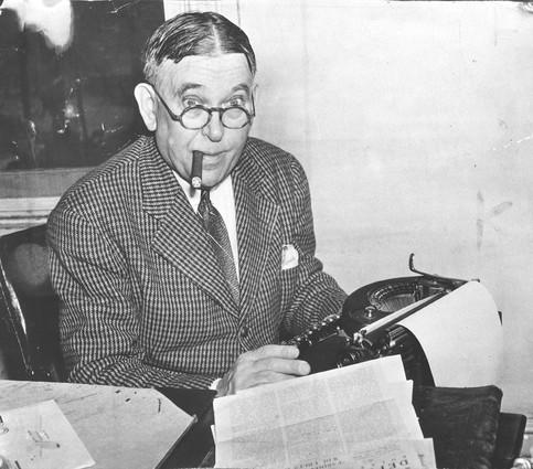 Henry Louis Mencken's 70th birthday, on September 12, 1950, was marked by the author's gift to the Enoch Pratt Library of the greater part of his literary accumulations , covering a period of 50 years.