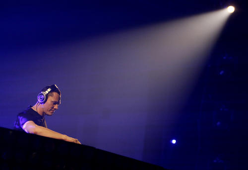 DJ Tiesto performs at the Sands Bethlehem Event Center in Bethlehem on Feb. 25.