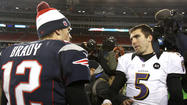 How does Tom Brady's contract extension affect Ravens' negotiations with Joe Flacco?