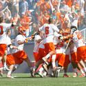 Syracuse players celebrate