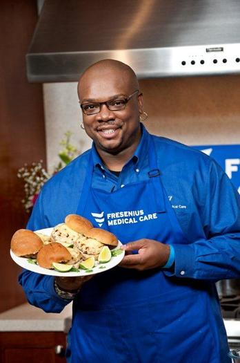 Food Network Chef Aaron McCargo, Jr. Coming to Chicago With Zesty New Recipes and Tips for No-Salt Cooking for National Kidney Month