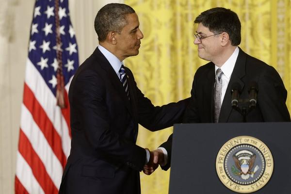 President Obama with Jacob Lew in the East Room of the White House in Washington after he announced last month that he would nominate Lew as the next Treasury secretary.