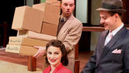 """His Girl Friday"" Showing at the Connecticut Reperatory Theatre in Storrs"