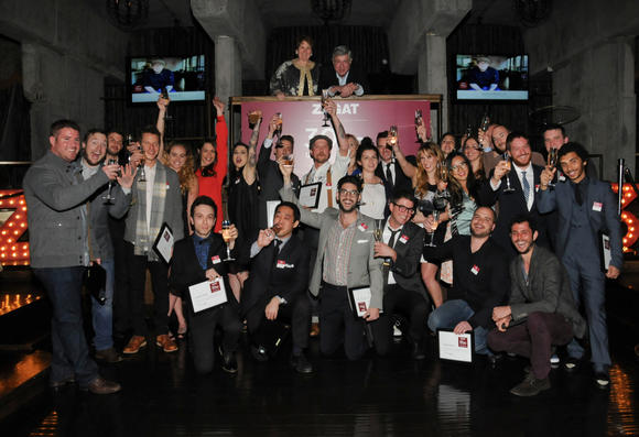 Zagat honors 30 under 30  at the Emerson Theater last night
