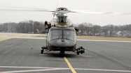 VIDEO New helicopters for Maryland State Police