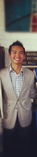 Justin Yu, Wit & Wisdom assistant general manager.