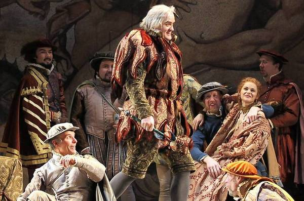 "Lyric Opera's Act one of Verdi's ""Rigoletto"" during dress rehearsal."