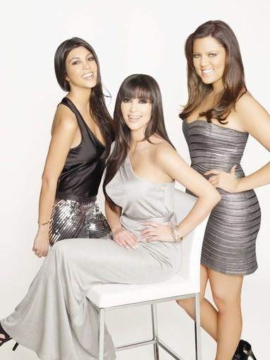 The Kardashian sisters are seen in this promotional photo. Kourtney Kardashian is helping promote a bone marrow drive for Armenians in Glendale Tuesday.