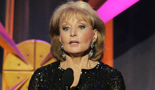 "Barbara Walters returns to ""The View"" after six weeks off for various ailments."
