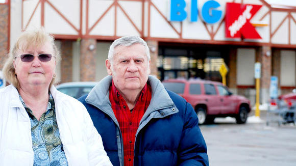 """We hate to see it go,"" Shirley and David Potter, of Johannesburg, said Monday. Gaylord¿s Kmart will close May 19 following the company¿s decision not to renew the lease of the building. A total 48 workers will be affected."