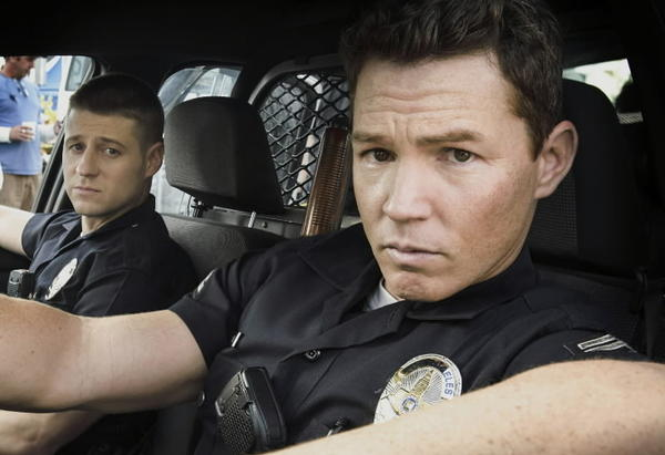 "Ben McKenzie and Shawn Hatosy in the TNT series ""Southland."""